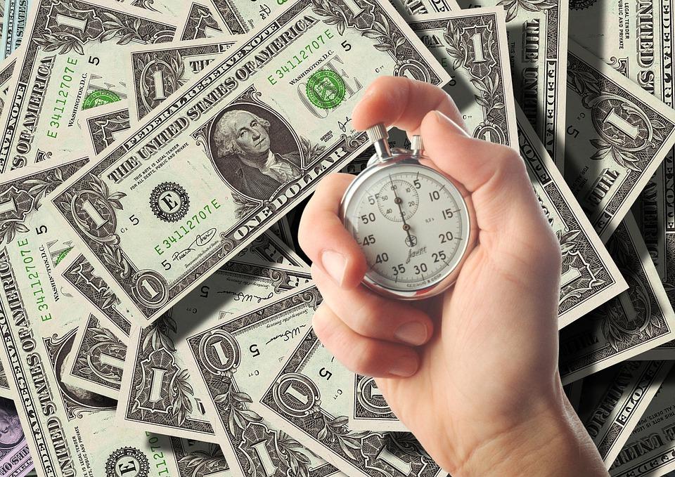 čas jsou dolary
