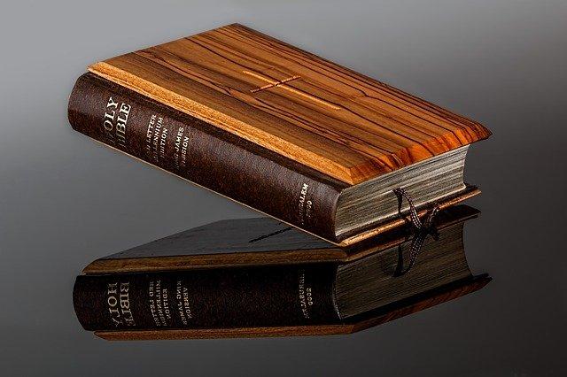 záložka v bibli