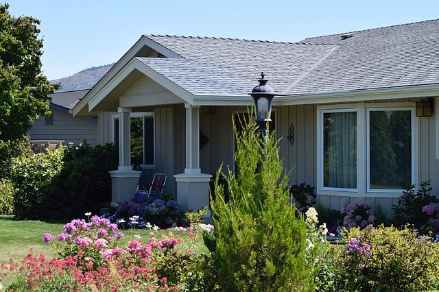 rodinný dům a zahrada