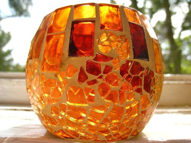 mozaika tealight